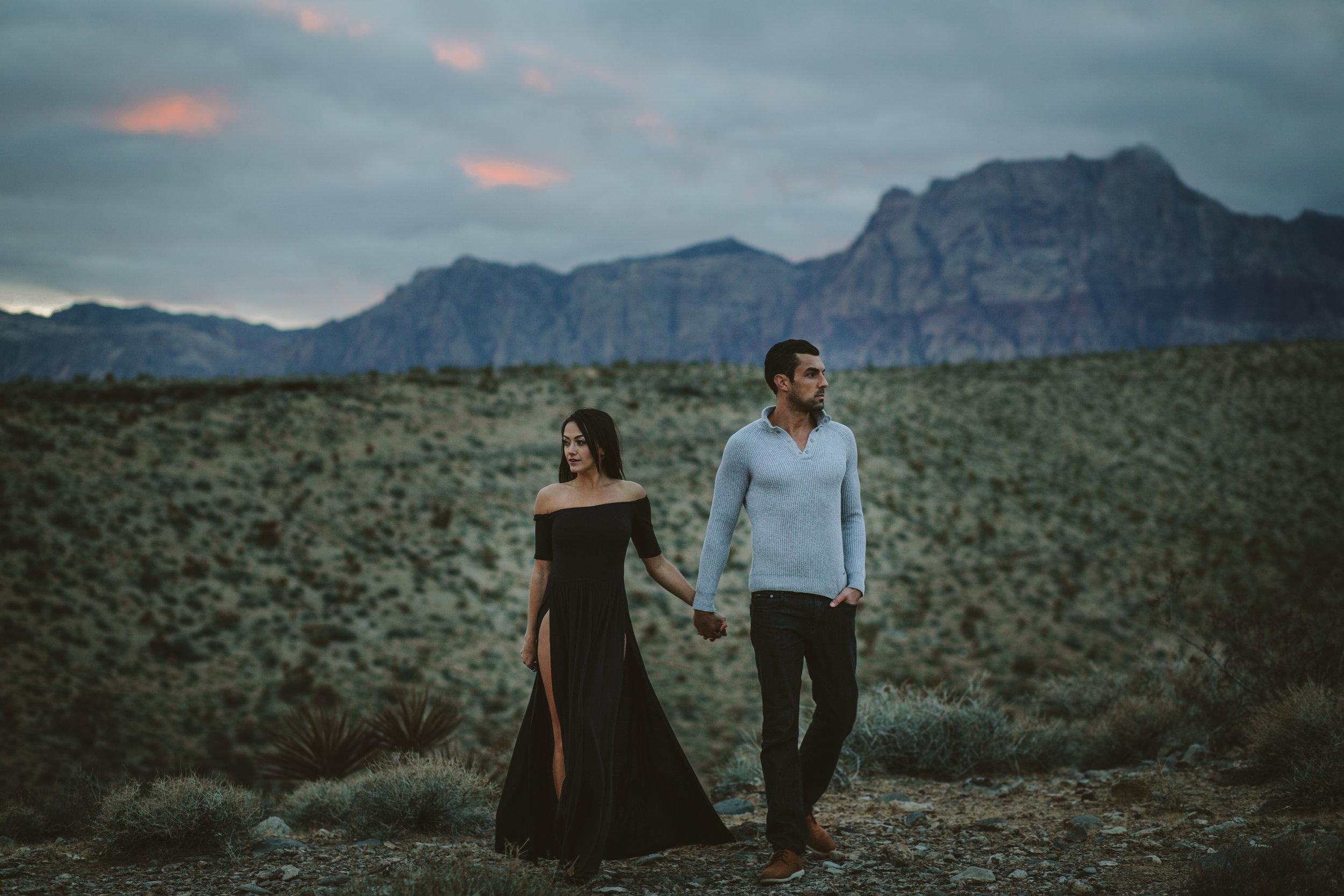 Laine + Daniel - Red Rock Canyon Las Vegas