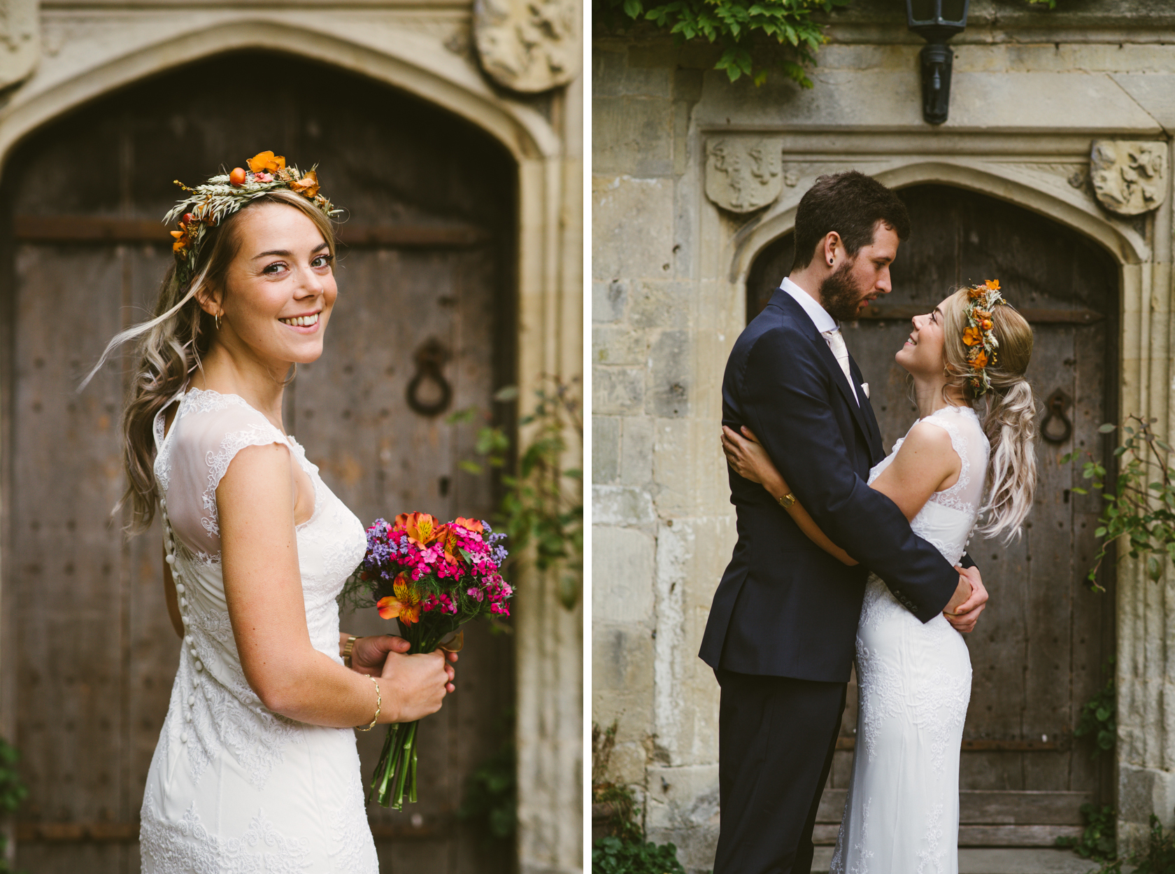 2_Lisa & Christy Abbey House Gardens Wiltshire Documentary Wedding Photographer-407.jpg