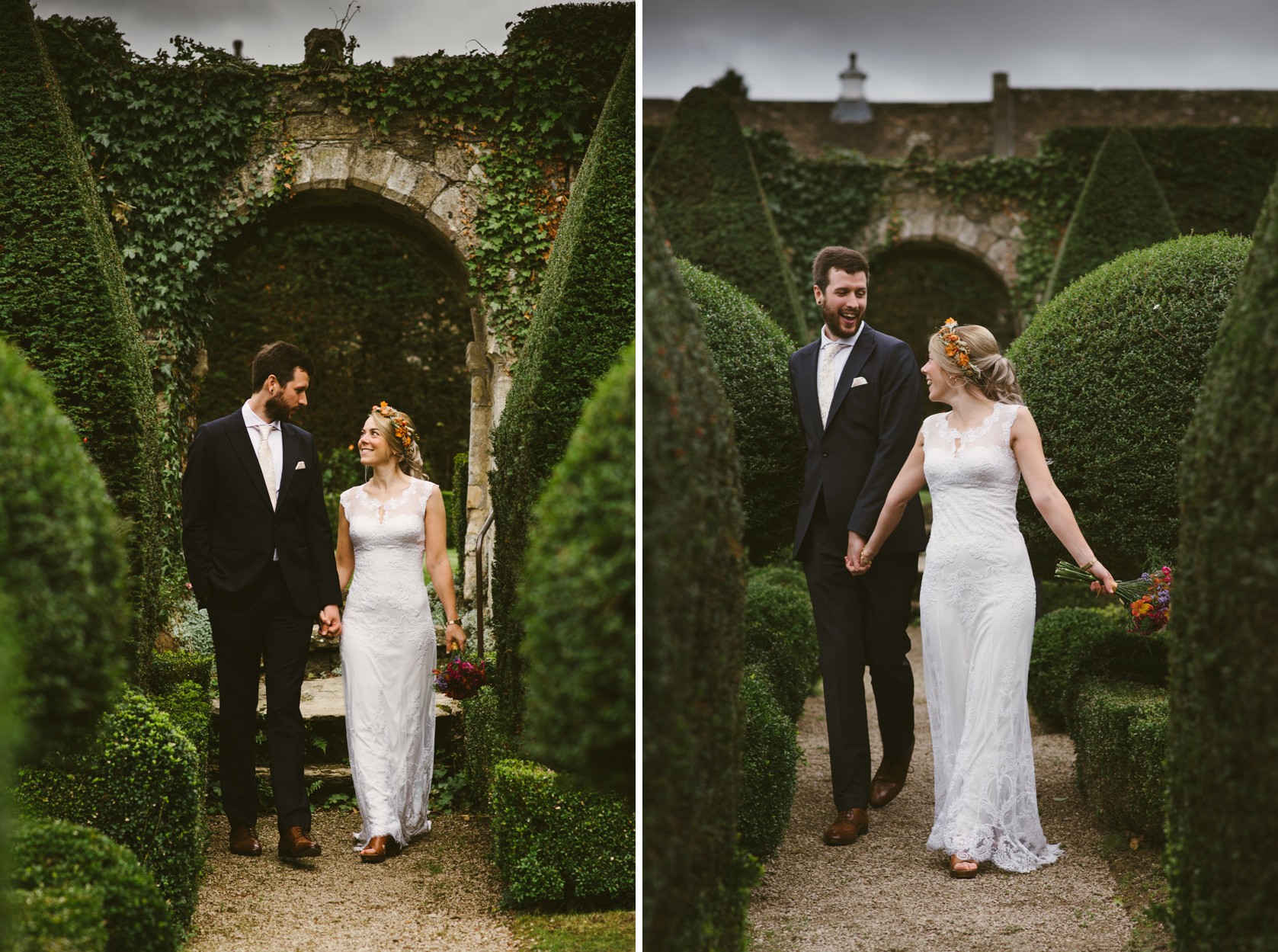 2_Lisa & Christy Abbey House Gardens Wiltshire Documentary Wedding Photographer-477.jpg