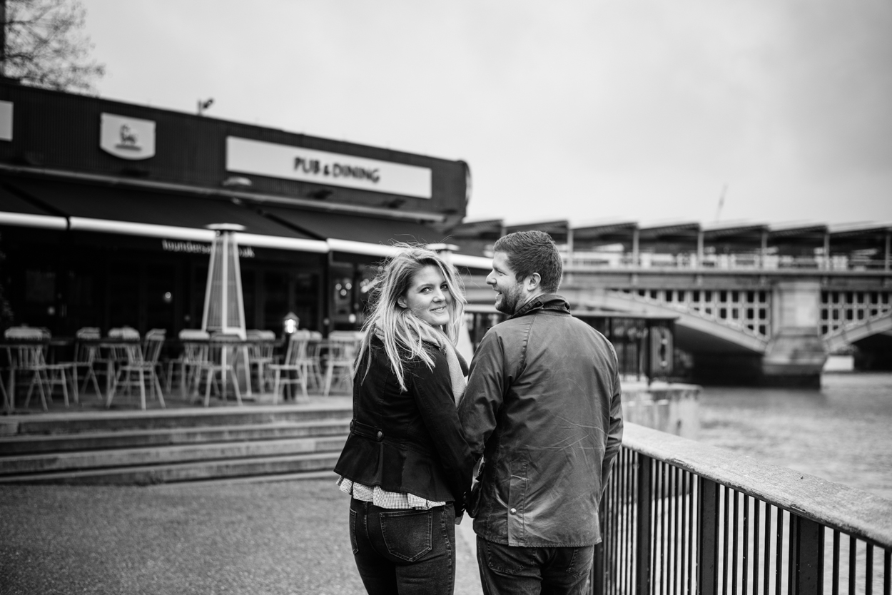 Copy of Black and White Engagement Photos