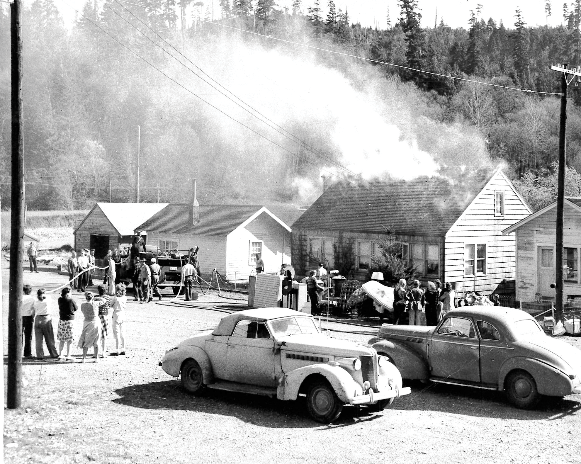 Our Impact - Since 1947, people in the community have stepped up and taken the call to serve as volunteer firefighters, and since then have never stopped!