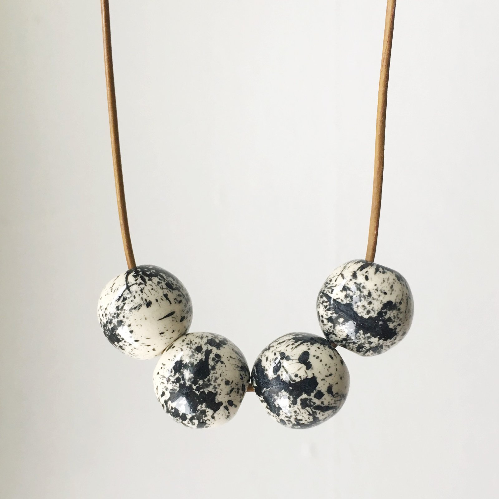4 Bead Necklaces -