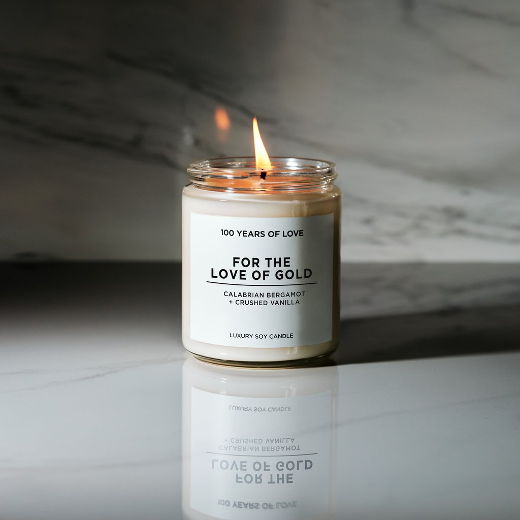 5 For the Love of Gold Candles -