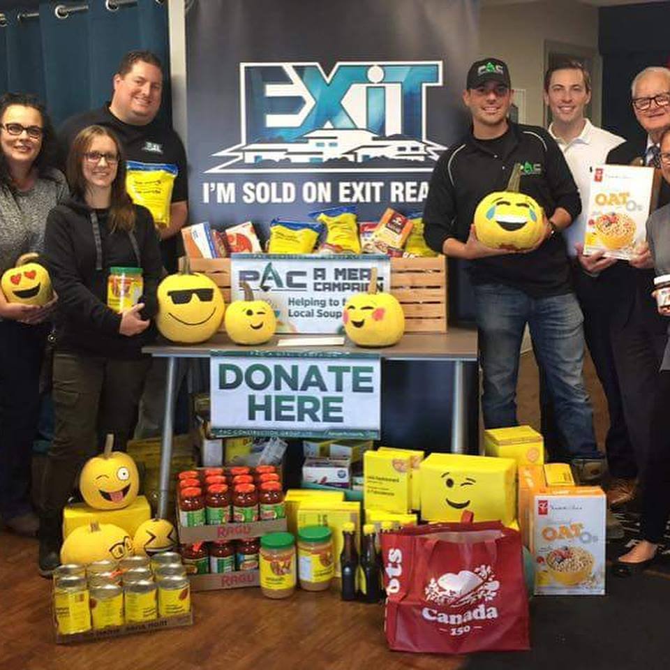 """EXIT Realty Participating In Our """"PAC A Meal Campaign"""""""