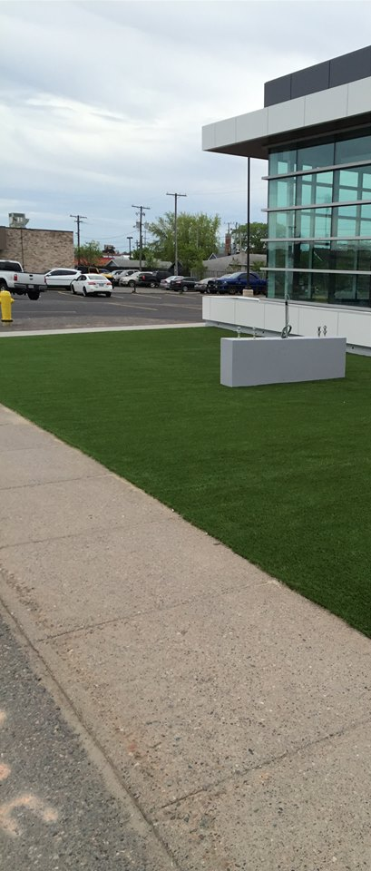 Commercial Turf Install
