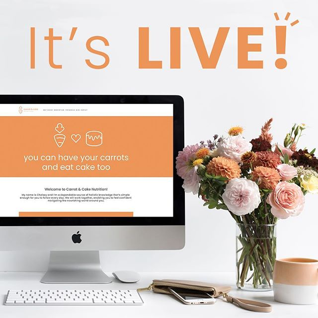 It's a-live!! ✨ My website is officially live!  Myself and my designer have worked endlessly for this and I'm so excited to be that much closer to sharing everything I know and helping others take back their health! - - Please follow and tag friends and family to let them know I'm here to help ✨ - - *Website link in bio!*
