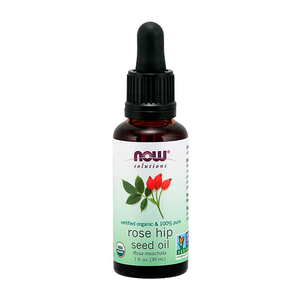 Rose Hip Seed Oil by Now - It's an organic, pure form of rose hip seed oil that I just can't get enough of!