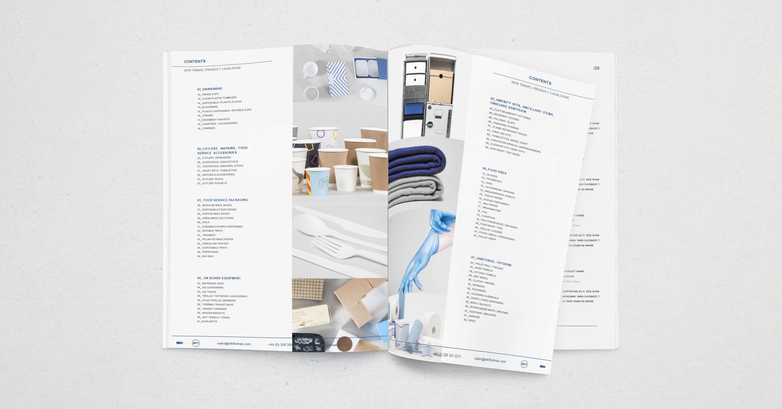 Travel Catalogue -