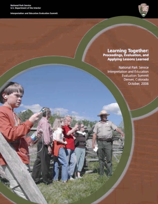 National Park Service - Facilitated evaluation capacity building agency-wide; researched values and meaning for Flight 93 Memorial design; documented best practices for engaging youth in a sustainable future; evaluated multiple park-specific programs