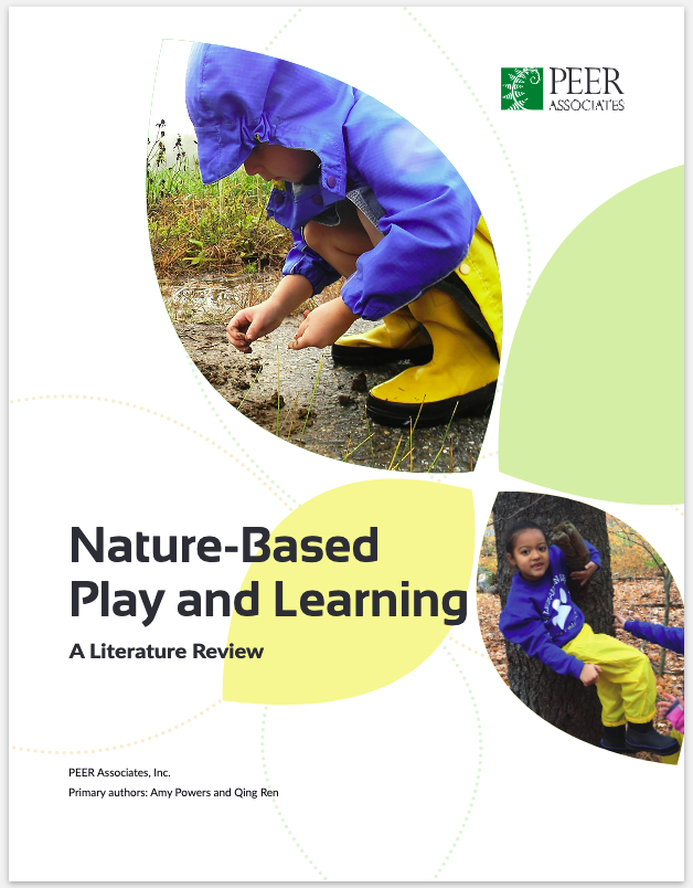 Four Winds Nature Institute - Synthesized scholarly literature on the benefits of childhood nature play; measured outcomes for FWNI early childhood educators participating in Nature Play and Learning Professional Learning Communities (PLCs)