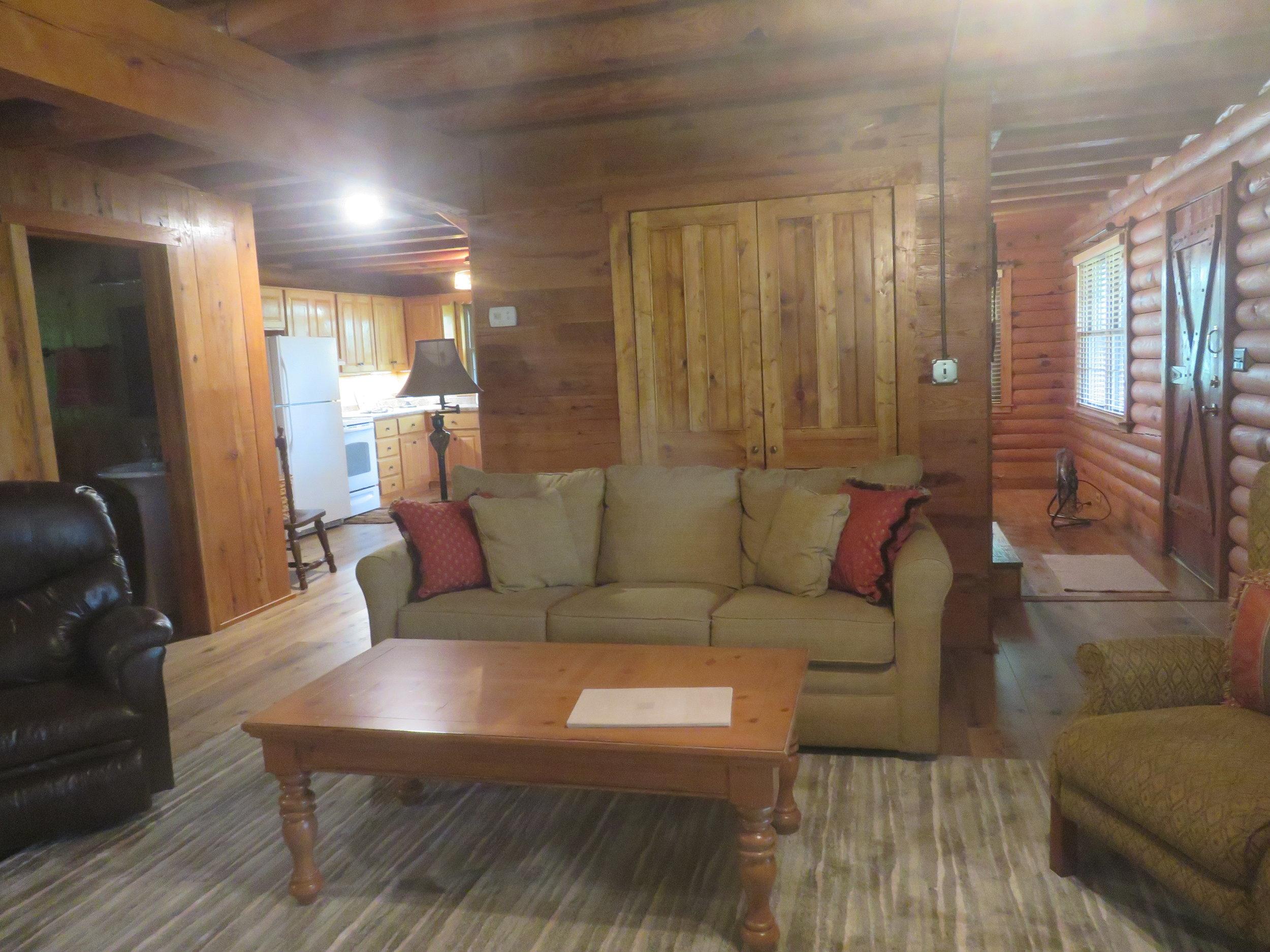 Barn at Spring Lake Farms Rental House Living Room.JPG