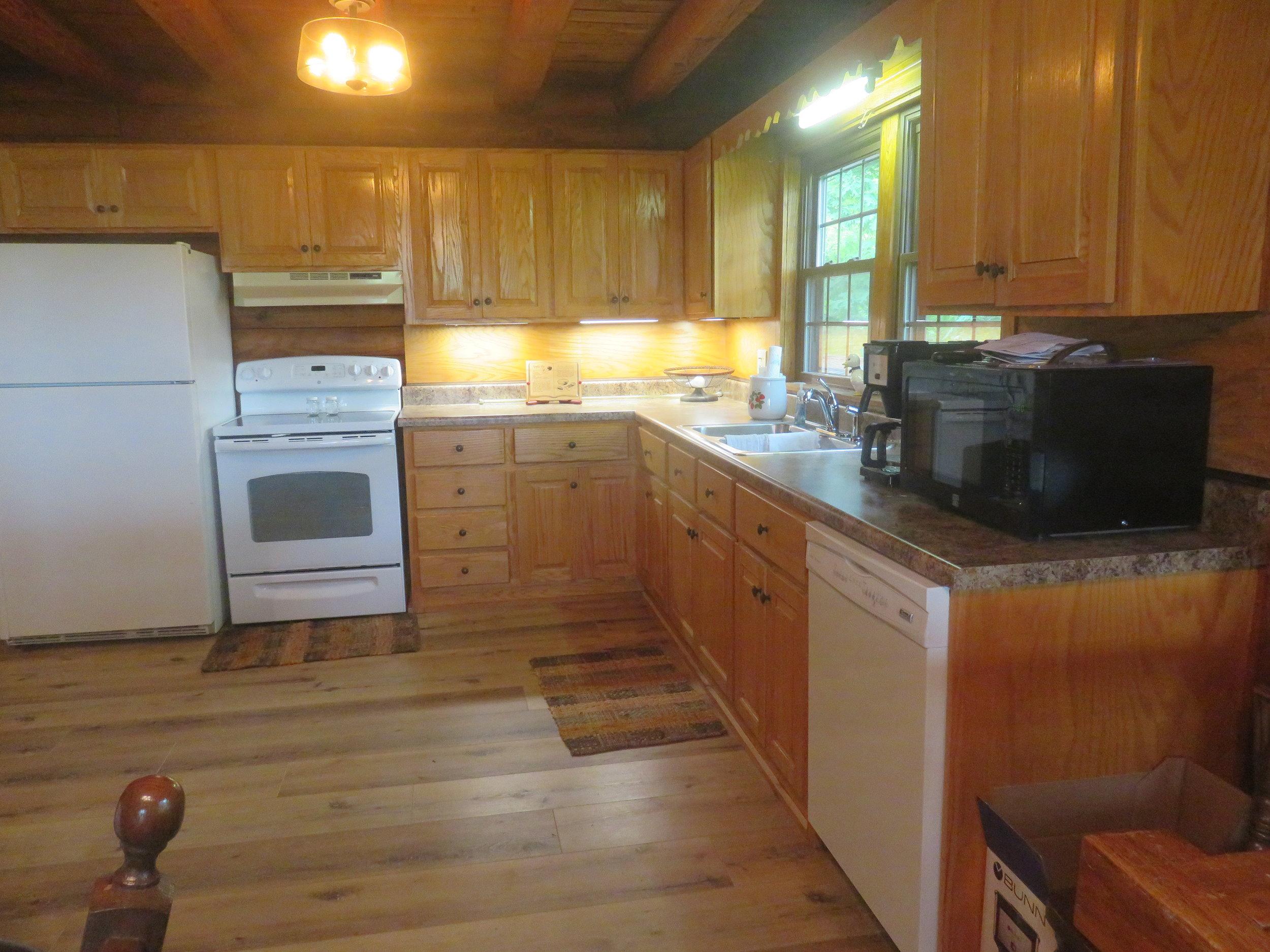 Barn at Spring Lake Farms Rental House Kitchen.JPG