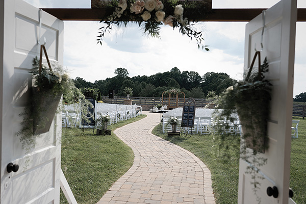 Outdoor Area - There are 2 large open areas for events. Dinner seating for 225, plus a separate dance floor with a stage,lighting and sound equipment for live entertainment or DJ set up. The large roll up doors allow for indoor / outdoor events, weather permitting.