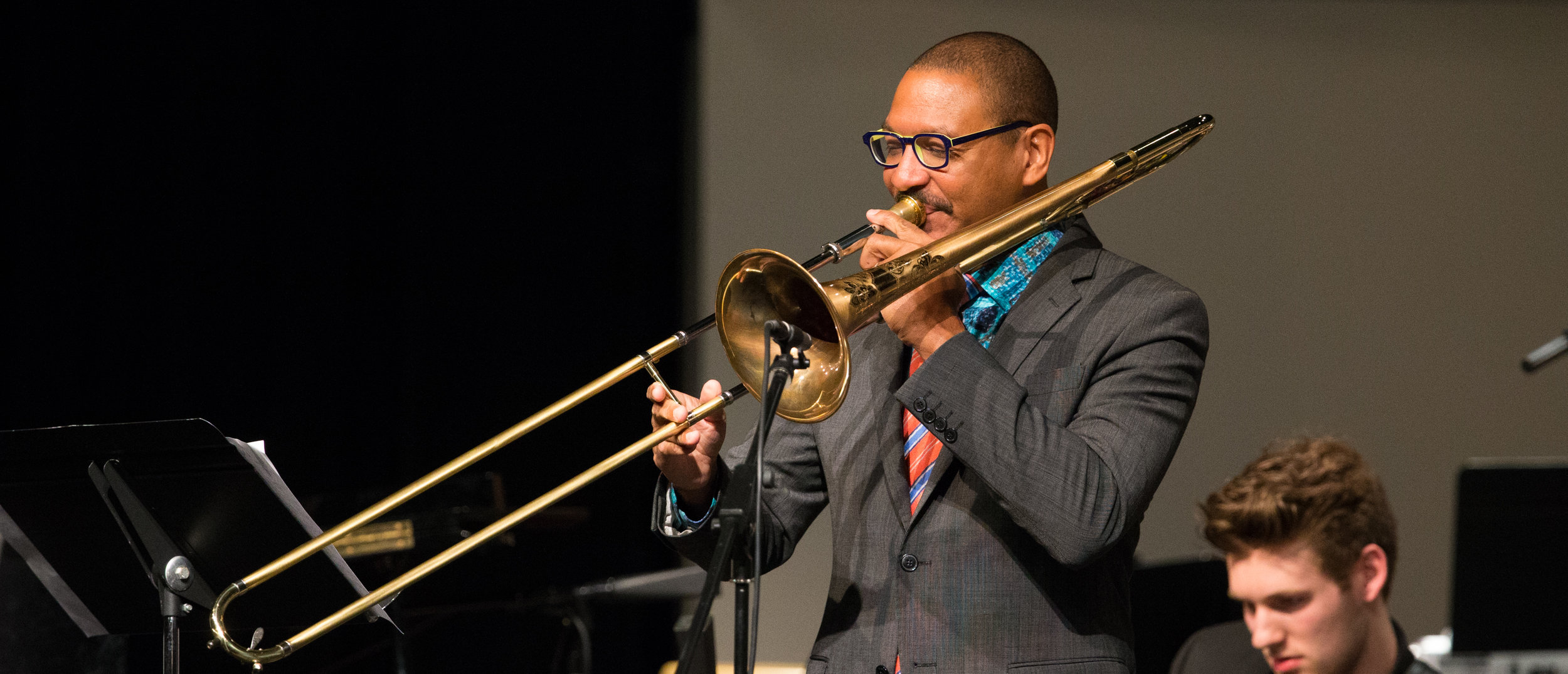 Special guest Delfeayo Marsalis on the trombone