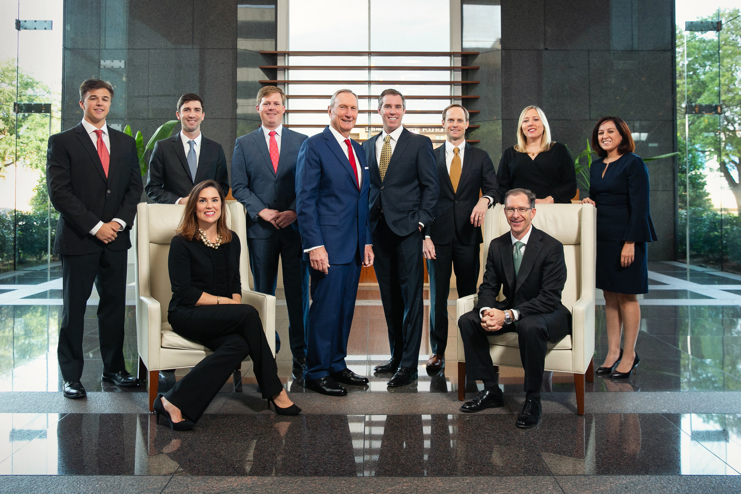 Probity Advisors, Inc. staff. (Photo provided by Probity Advisors, Inc.)