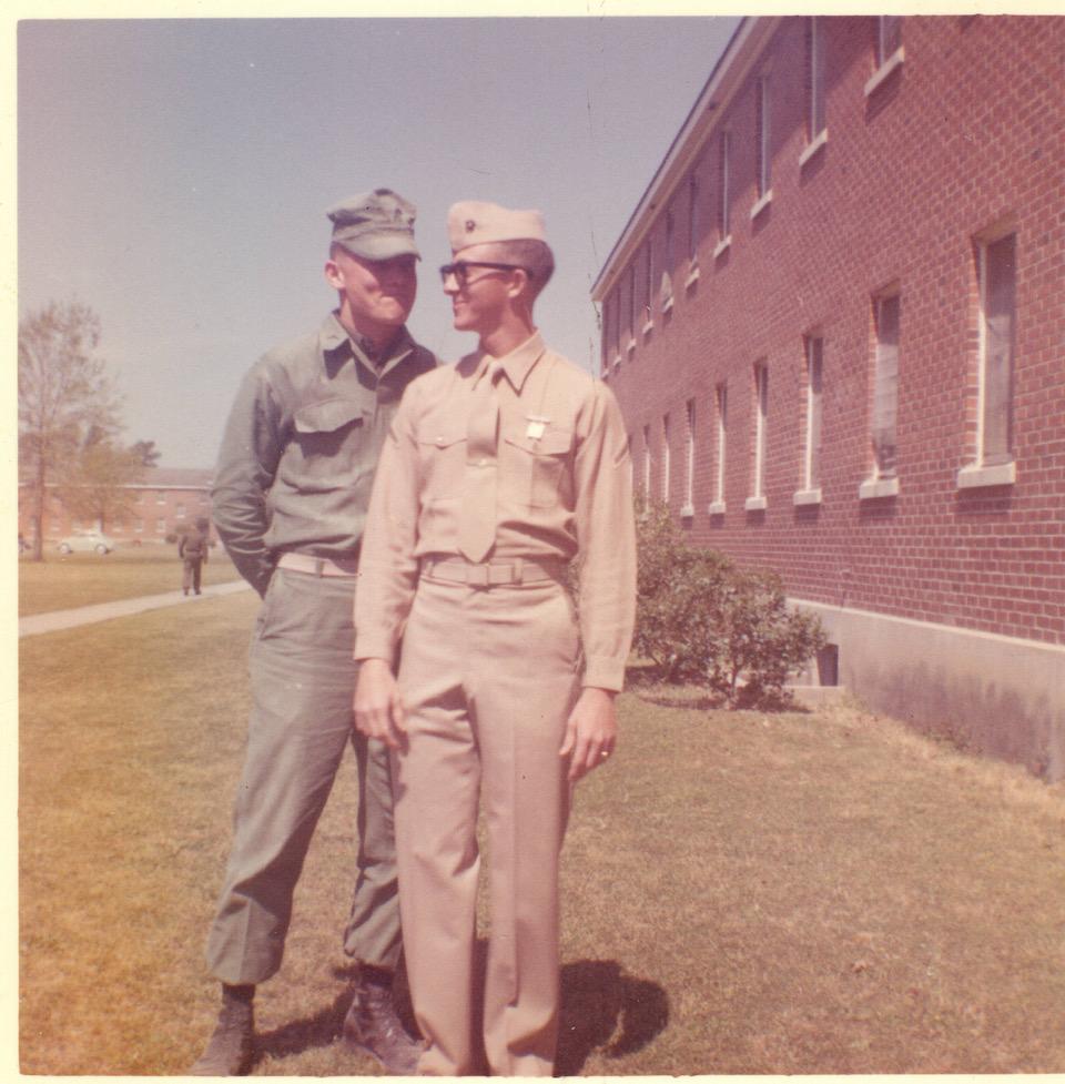 PFC John Martin at Camp Pendleton, 1961