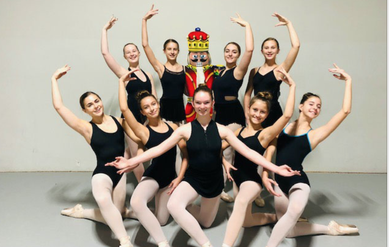 Featured Lovejoy dancers for the 2018 production of  The Nutcracker  - (Back row, from left) Makenzie Aubel, Mallory Ansley, Kati Barker and Avery Hammett. (Front row, from left) Lily Melhorn, Avry Carraway, Regan Novotny, Julie Snow and Malia Bowling.