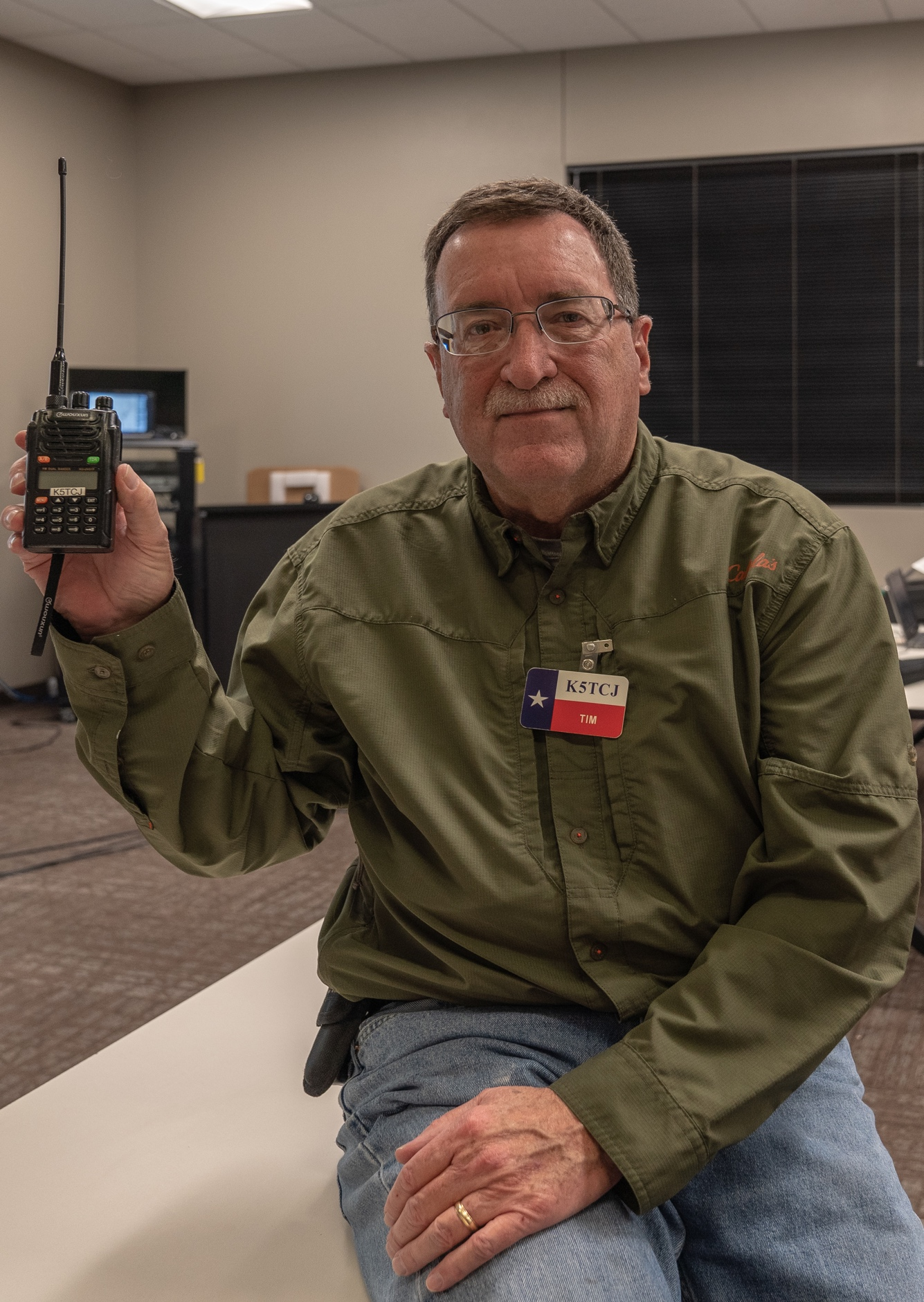 "Tim Johnson says, ""You can get a really good handheld radio for less than $100."""
