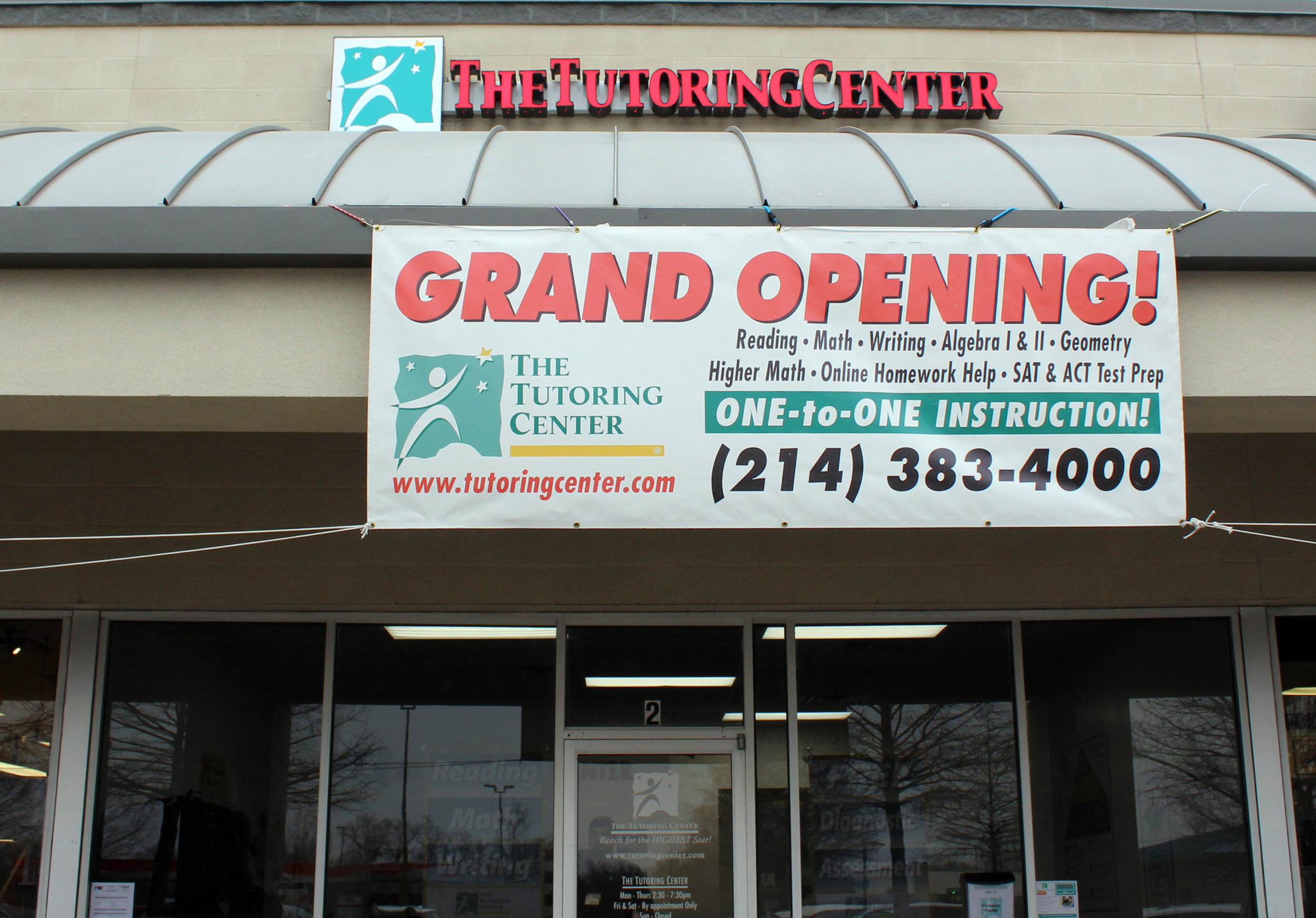 The Tutoring Center, located in Allen, opened on Feb. 25, 2019