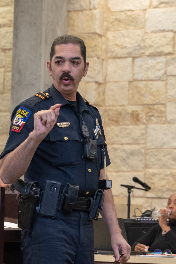 """Fairview Police Chief Granville Tolliver said, """"Our annual Racial Profiling Report for 2018 is very consistent with the results we have achieved for several years now."""""""