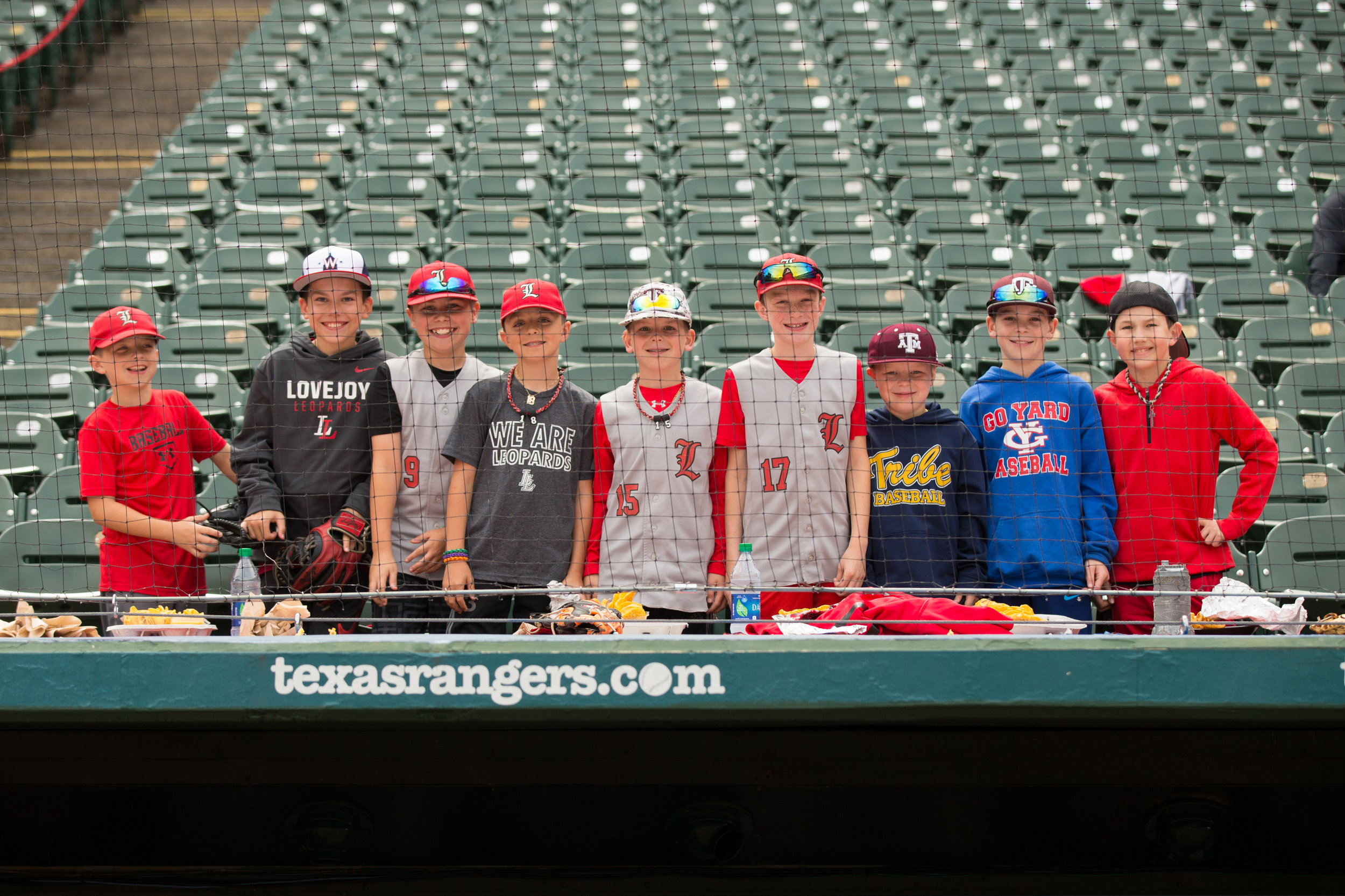Little Leopards watching Lovejoy take on Highland Park at Globe Life Park