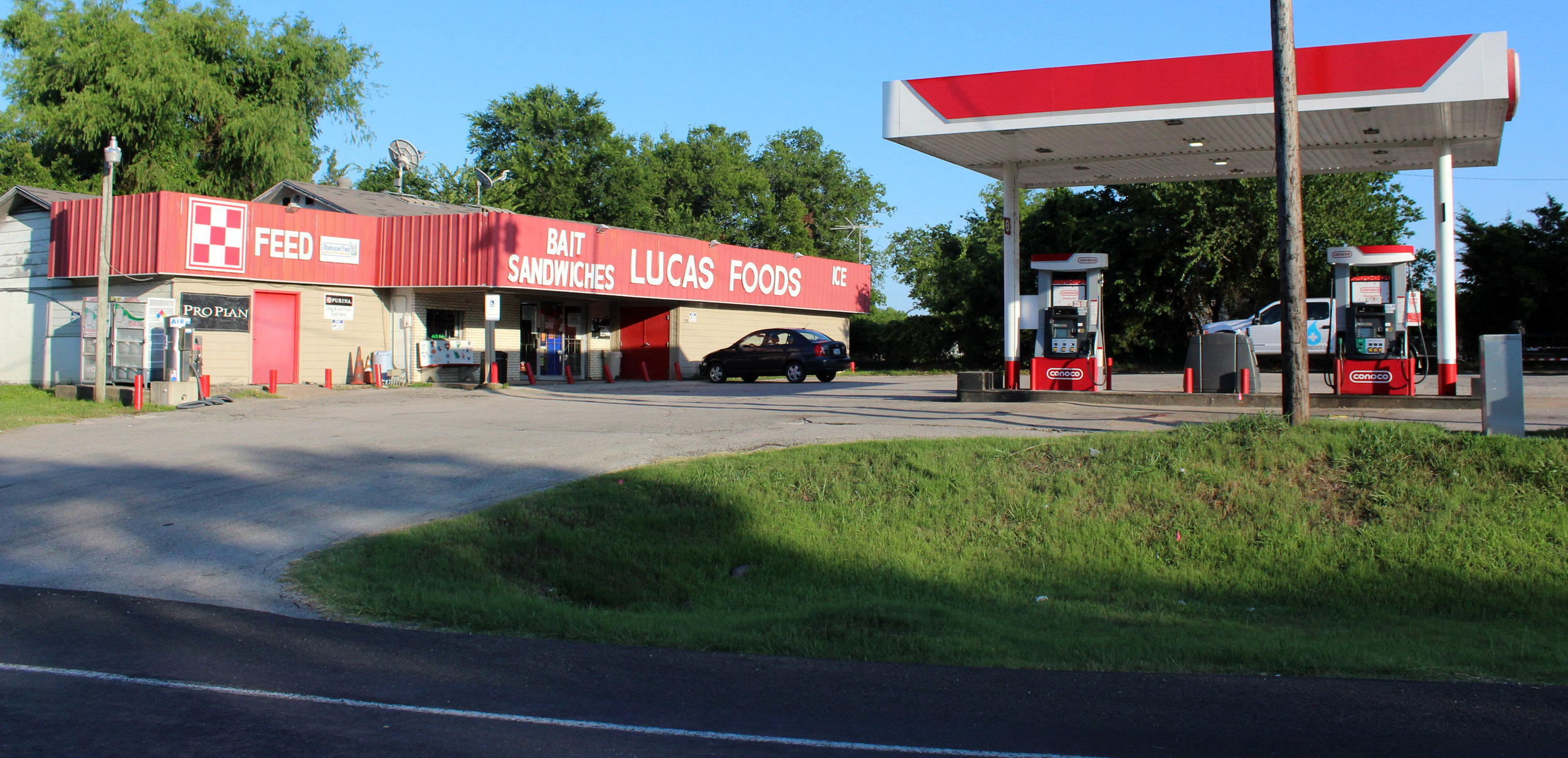 The owner of the Lucas Food Mart (aka The Bait Shop), located at 178 Southview Dr., voiced concern over limited access to his business.