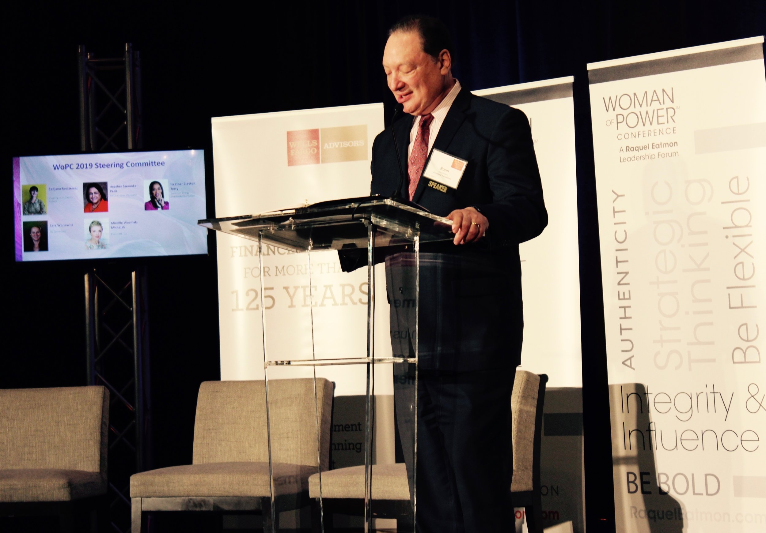CEO, The Cleveland Foundation, Ronn Richard created a roadmap for attendees through his speech: Leadership in Uncertain Times & A Changing Workforce.