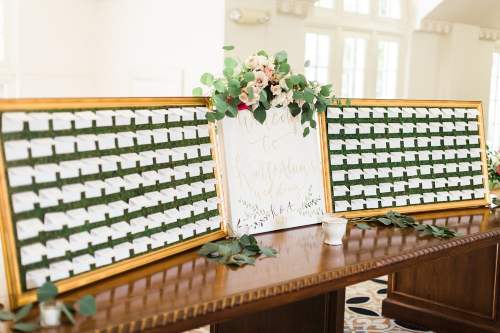Moss Place Card Frames   - Fits approximate 77 cards per frame depending on size and spacing