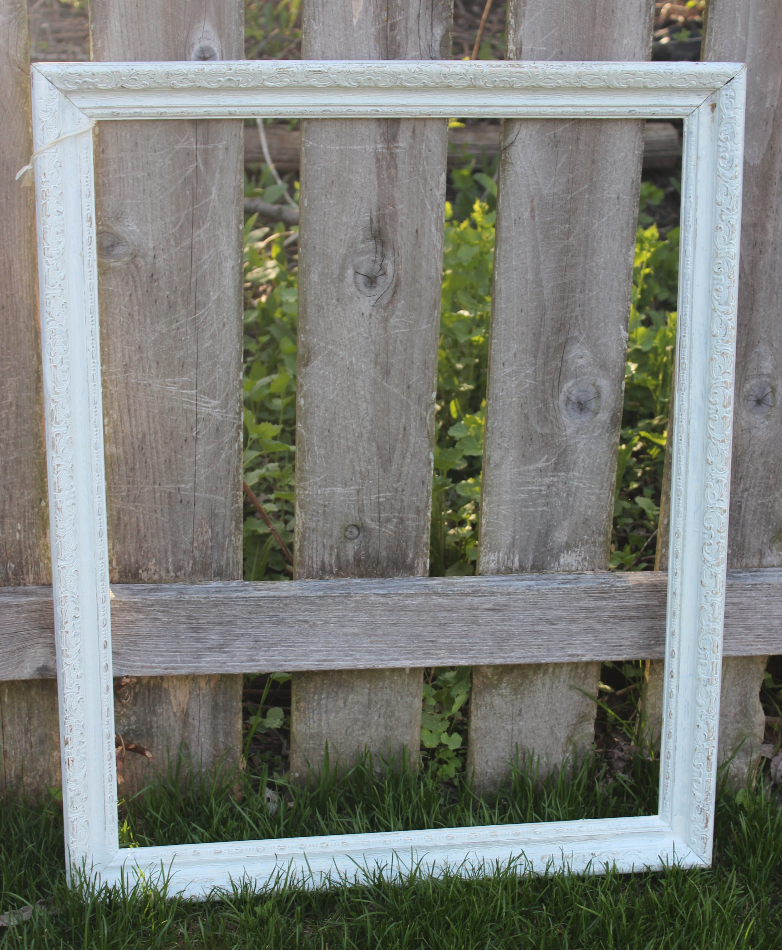 White Frame - 1.5ft W x 2.5ft H