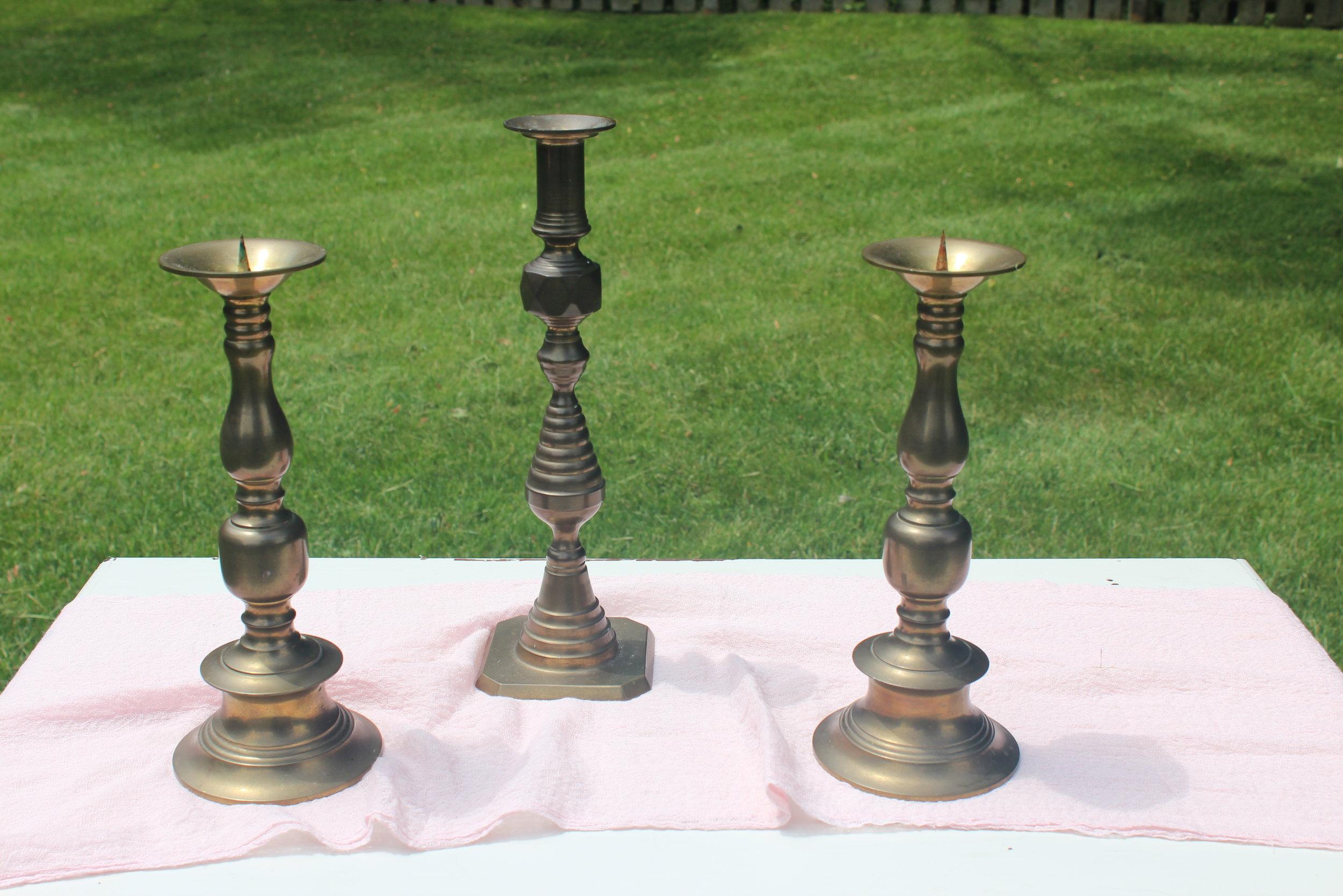 Gold Candlesticks