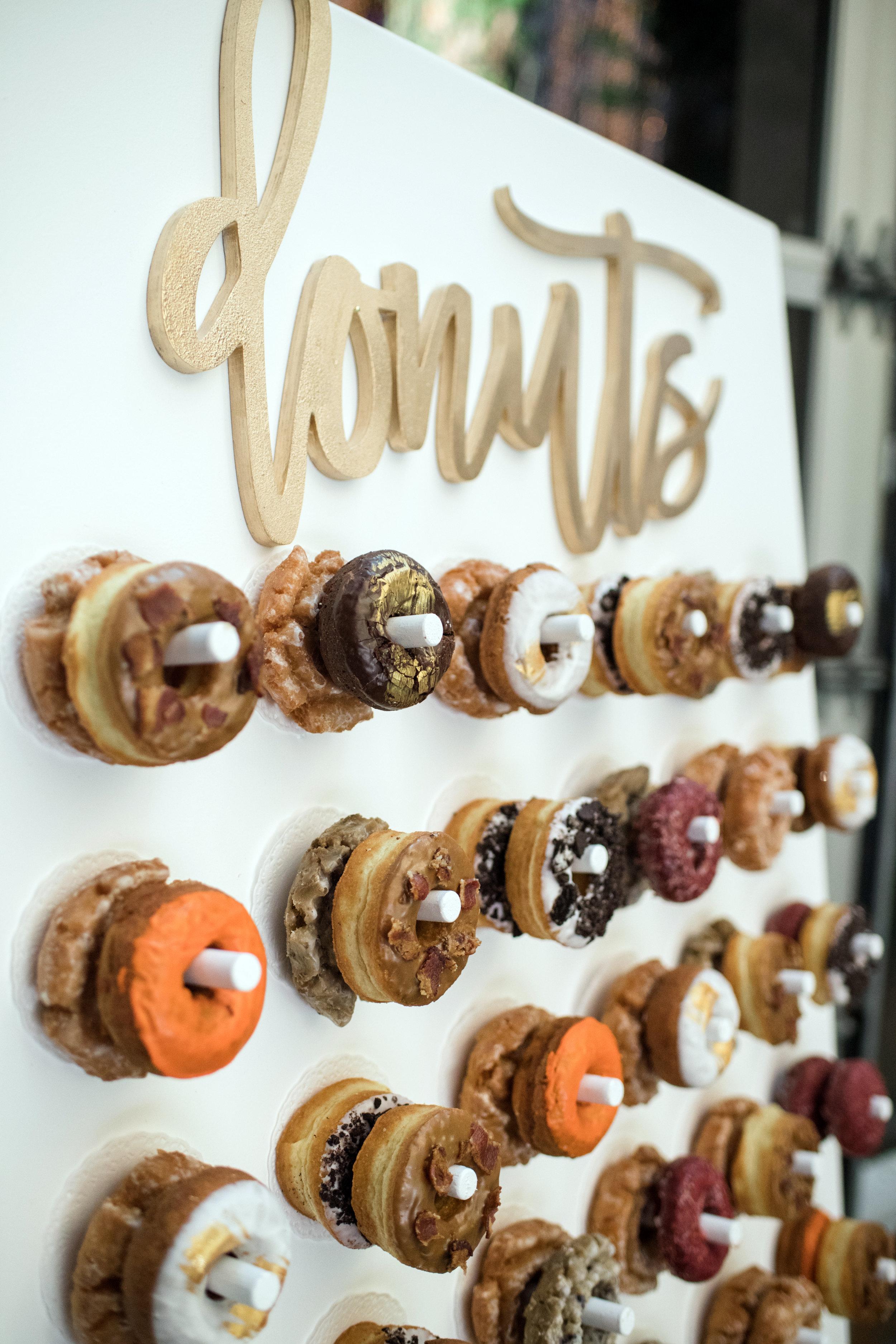 Donut Wall - Close Up