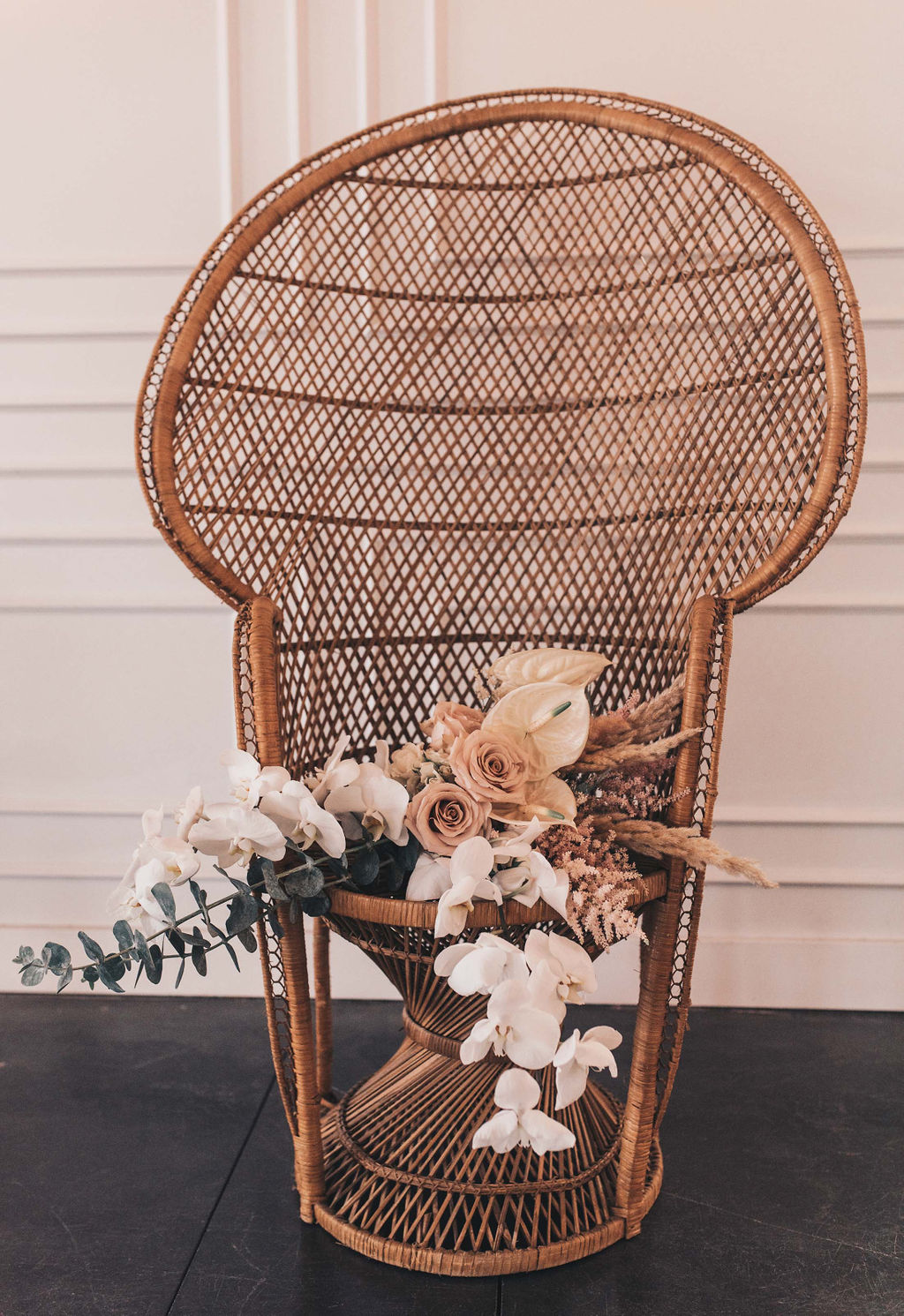 Peacock Chair - Perfect for Bridal Showers and Baby Showers