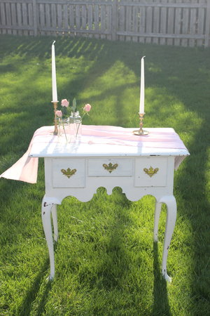 White Table - great for welcome table