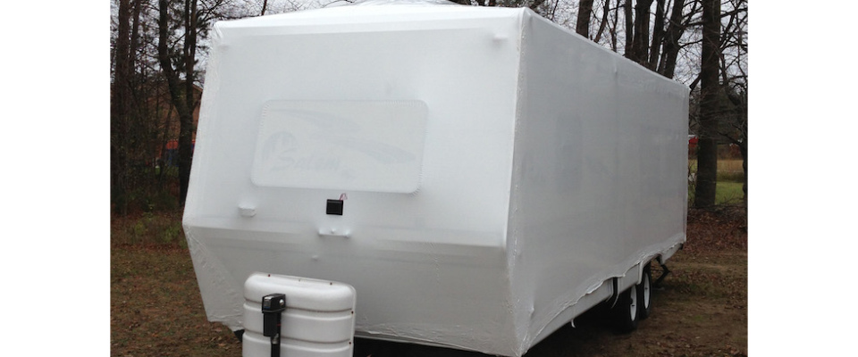Winter protection for assets stored outside