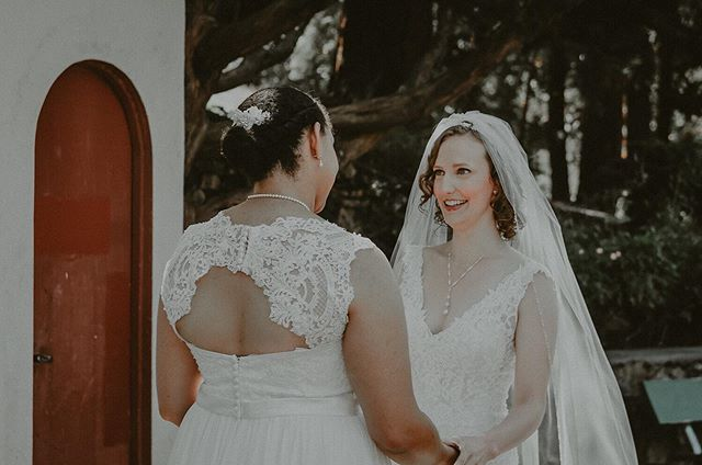 Love is love and it looks like something different to everyone which is part of the beauty I live for between couples. . . . . . . . . . . #loveislove #twobridesarebetterthanone #pnwphotographer #portlandphotographer #lesbianwedding #firstlookwedding #portlandweddingphotographer