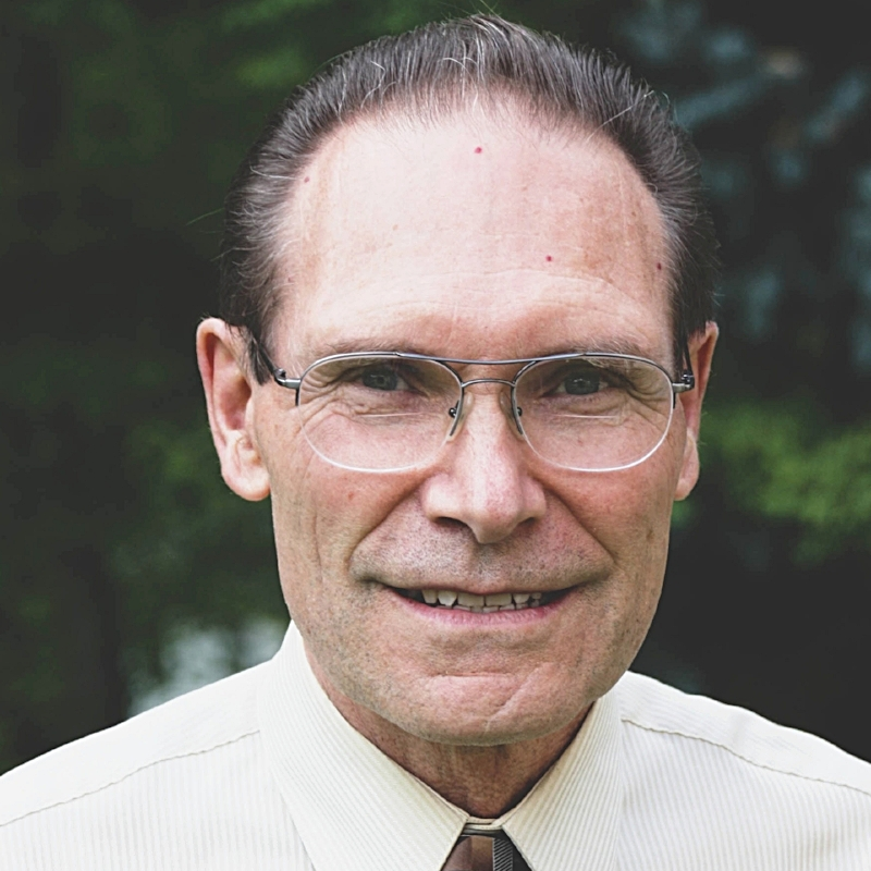 Charles has served Calvary as a deacon since 1985. He is a retired time recorder technician, and is married to Alayne.