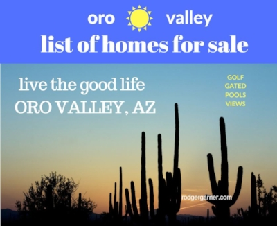 Sell your home fast in Oro Valley, Arizona with HomeSmart agent, Rodger Garner, 520-870-5114 - call or text