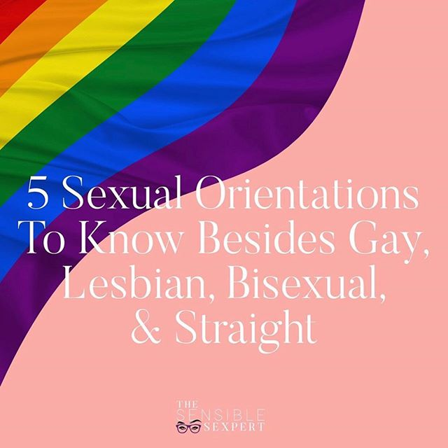 """Special thanks to @thesensiblesexpert for posting these amazing infographics about some of the lesser-known sexual orientations! I heard about pansexual a few years ago when I was trying to find a better understanding of my own sexuality, since bisexuality did not fit the bill for me. I also noticed that the term """"pansexual"""" was used back in the early 2000s on an episode of the original Will & Grace! I personally never knew about androsexual or gynesexual - shows that we always have something new to learn! Are there any here that you didn't know exist? Comment below!"""