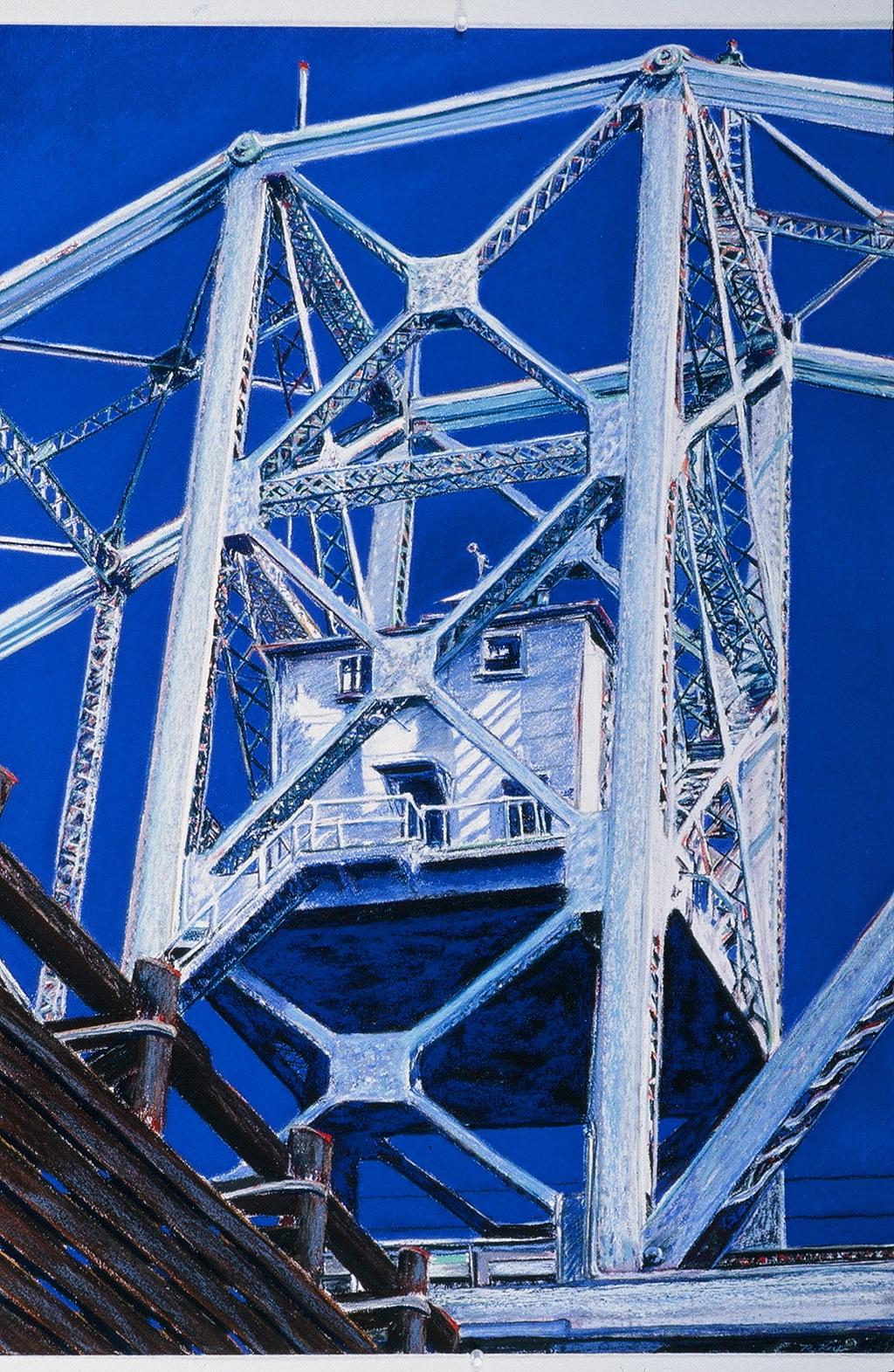 "House on the ""Willamette Draw"" Railroad Bridge"