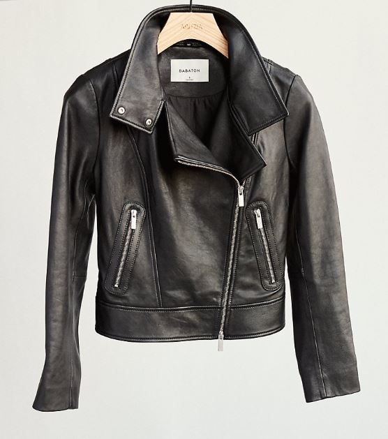 Aritzia Leather Jacket