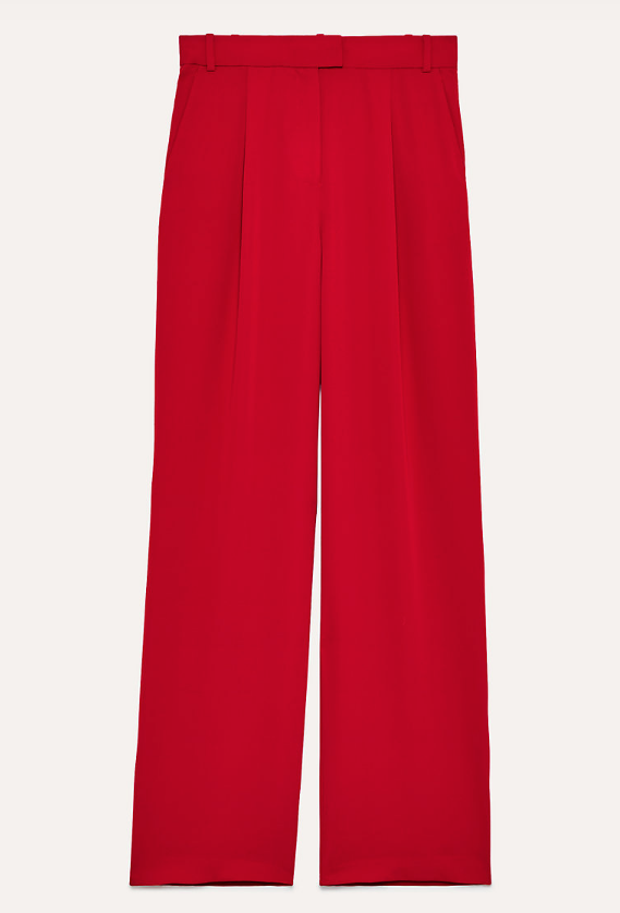Sadiki Pant in Red