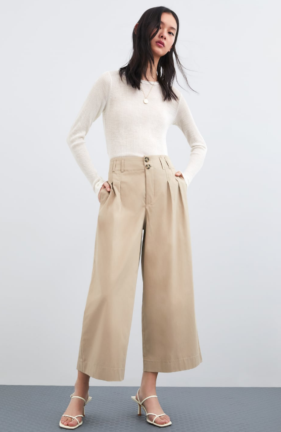 Zara Cropped Pants