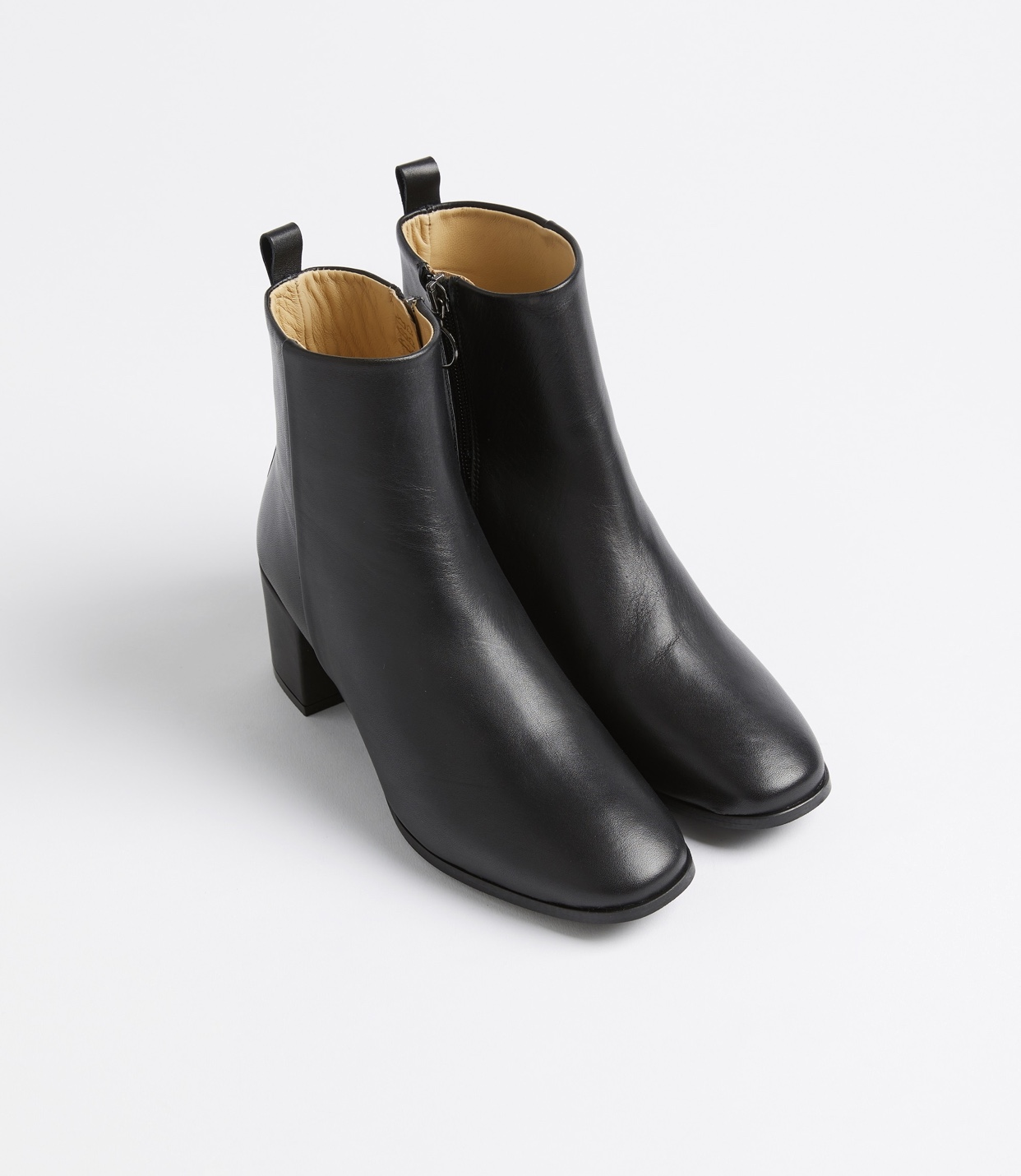 Frank and Oak The Veranda Leather Heel Boot
