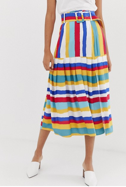 Midi skirt by ASOS DESIGN