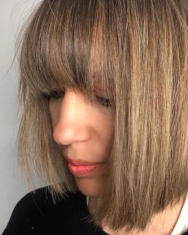 Beautifully customised cut & colour 🖤 #lucahairstyling #hairsalon #wellington #haircolour #haircut #hairdressers #shorthair #blonde #brunette #warm #love #highlights #fringe #texture #fresh #tidy #inspo #bronde #natural #beautiful #soft #healthy #shiny #redken #kerastase