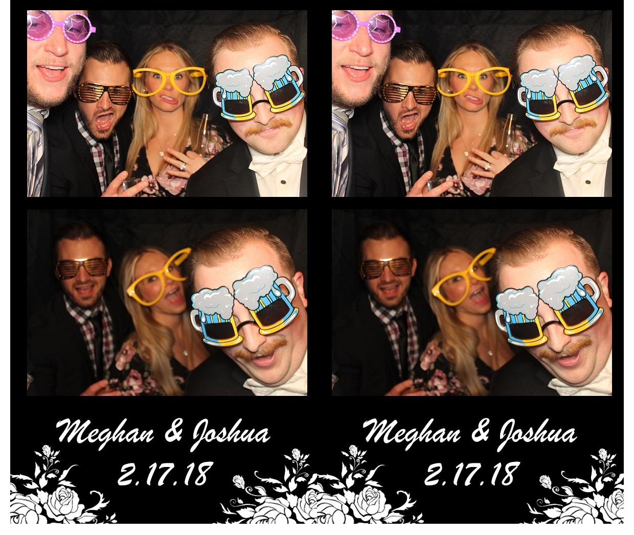 Having Fun In PhotoBooth Quad Cities Wedding