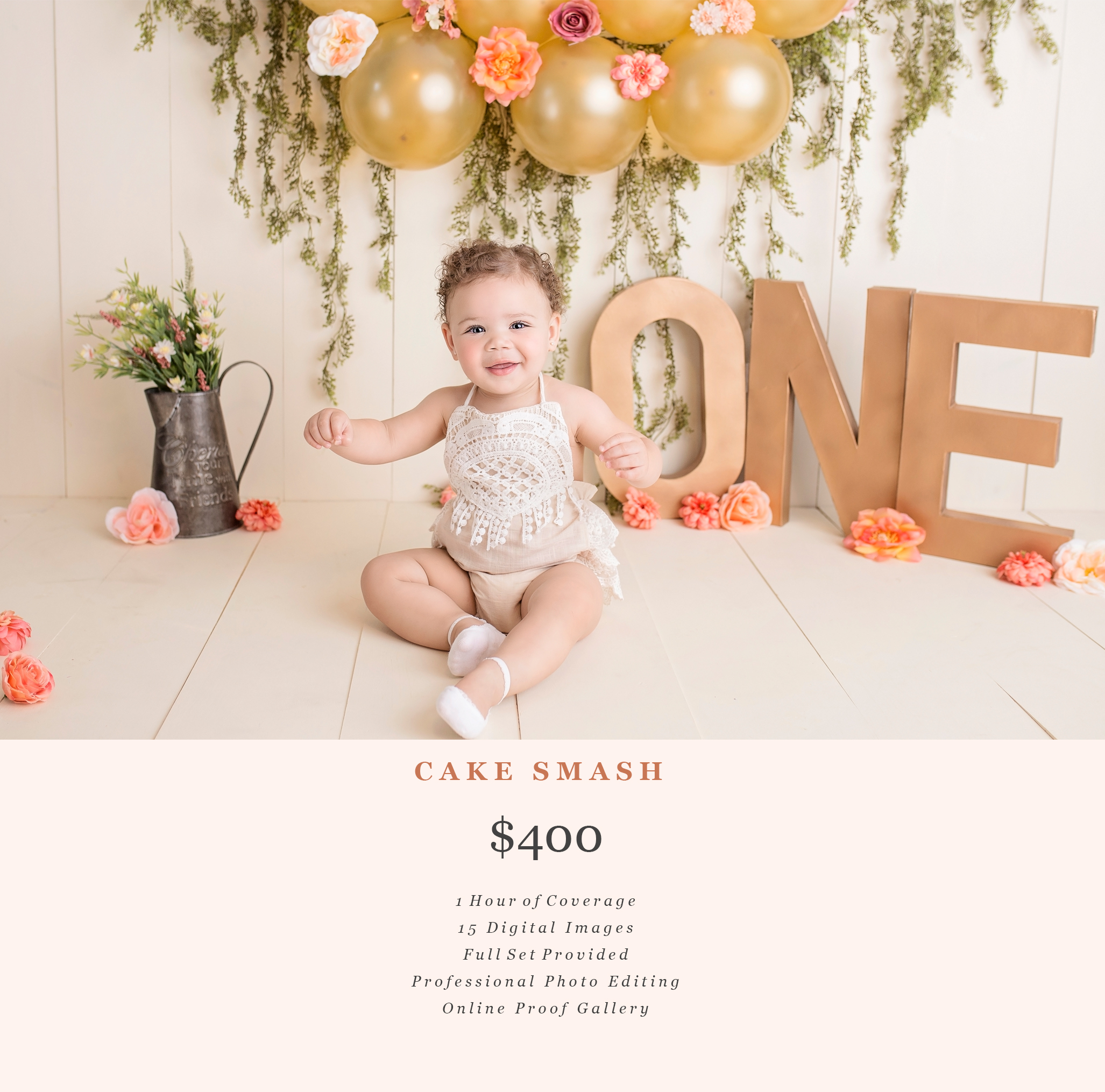 cake smash photographer, Fayetteville, nc, baby photography, pricing,