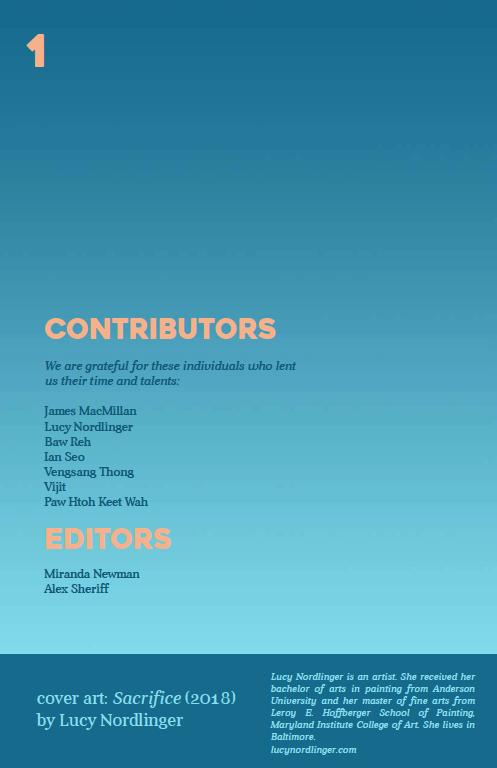 AFTERNOON Vol 1 Contributors