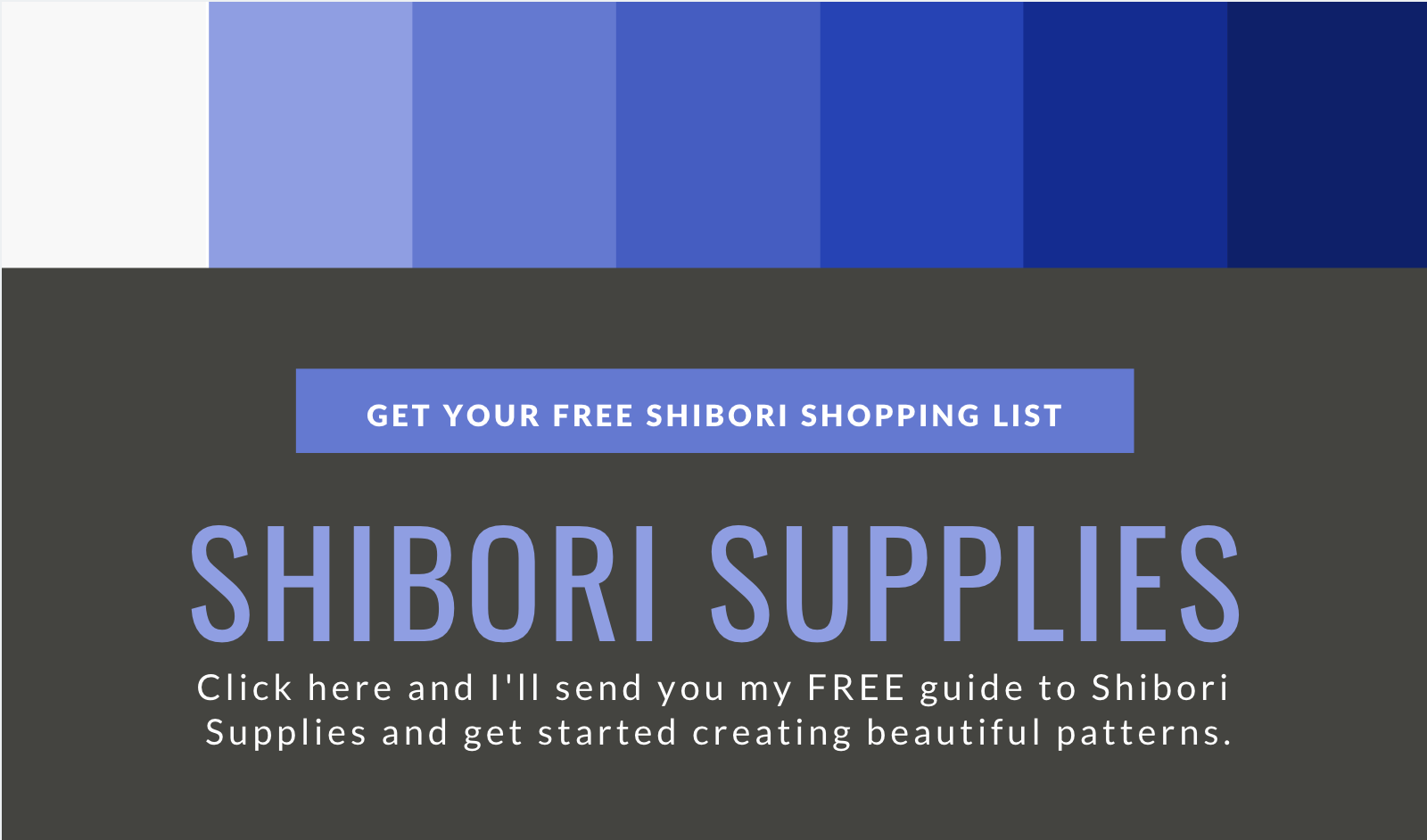 Shibori dyeing supplies