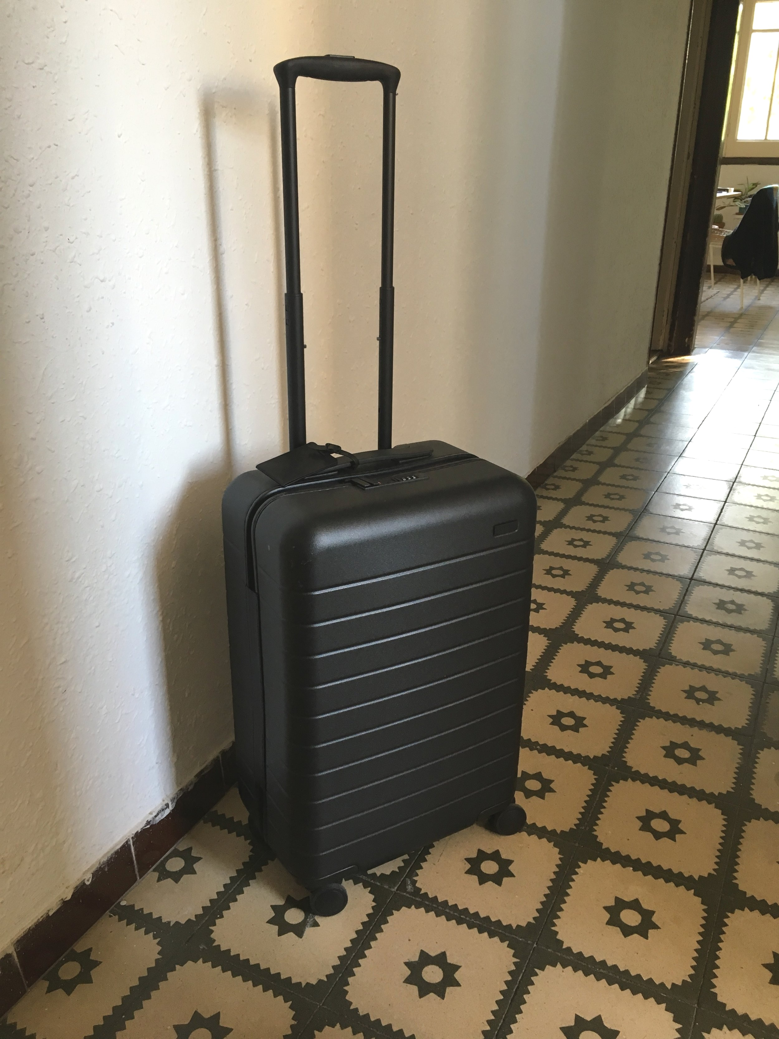 I lived out of this carryon bag for over 2 months!